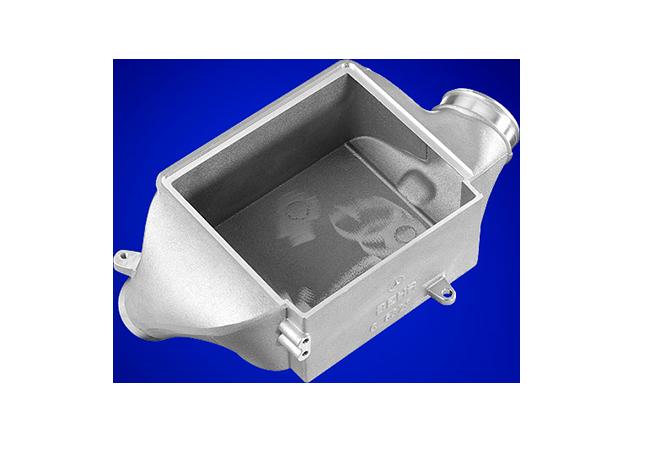 Ladeluftkühlergehäuse aus Aluminium