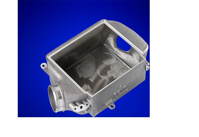 Gehäuse Ladeluftkühler aus Aluminium